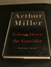 ECHOES DOWN A CORRIDOR by Arthur Miller. First Edition, Mint, Signed