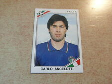 original FOOTBALL STICKER PANINI MEXICO 86 1986 : CARLO ANCELOTTI Nr 48