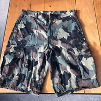 LRG Lifted Research Group Camo Camouflage Cargo Shorts Skateboard Mens 32