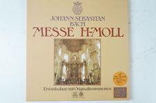 Bach Messe h Moll Nikolaus Harnoncourt Concentus musicus Wien 3 LP (LP38)