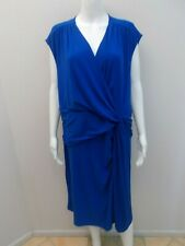 NEW RRP$129 BASQUE WOMAN BLUE DRESS PLUS SIZE 22  (#V586)