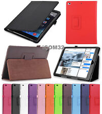 UK Smart Magnetic Leather Stand Case Cover for iPad 2 3 4