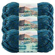Lion Brand Yarn 135-212 Hometown Yarn, Lake Tahoe Blue (Pack of 3 skeins)