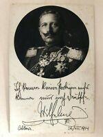 AK 1. Weltkrieg Dt Kriegskarte 1914 Rotes Kreuz Kaiser Wilhelm Coblenz 1914