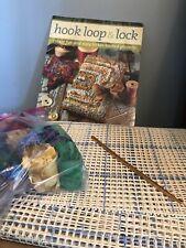 2009 Hook Loop & Lock By Theresa Pulidosoft , 3 Foot By 2 Mat Webbing & Needle