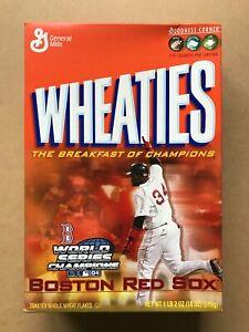 2004 David Ortiz Empty Wheaties Box - Boston Red Sox World Champions