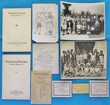HORACE MANN JUNIOR HIGH SCHOOL - LOS ANGELES, CA 1940'S COLLECTION ITEMS PHOTOS