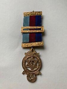 Vintage Masonic medal, Stamped GK&S