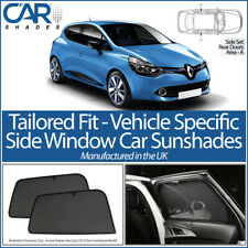 RENAULT CLIO 5DR 2013-2019 CAR SHADES UK TAILORED UV SIDE WINDOW SUN BLINDS