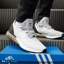🚨 Adidas ZX 2K Boost Para Hombre Zapato Atlético Negro Blanco Zapatillas Correr Entrenadores