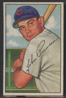 1952 Bowman #247 John Pramesa Chicago Cubs