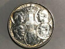 Uncirculated 1963 Greece 30 Drachmai 5 Kings  Silver Foreign Coin (002)