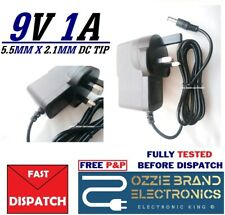 9V 1A UK AC ADAPTER TO FIT CGE MODEL: PA009EB02 INPUT: 100-240V 50/60HZ 0.3A