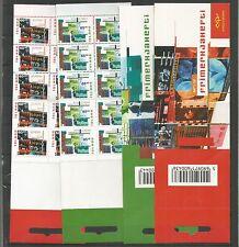 CEPT/Europa Island 2003 marcas cuadernos bzw cuaderno hojas/c + d **