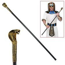 PHARAO HERRSCHERSTAB Karneval Ägypter Ägypten Schlangen Zepter Kostüm Deko 07604