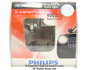 NEW Philips 9003 Extreme Vision 2-Pack 9003XVS2 Bulb