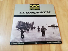 'The Longest Day' Laser Disc- Widescreen Edition