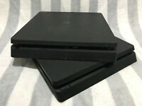 Sony PlayStation 4 Slim 500GB Black Console - For Parts - 2 pcs
