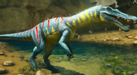 Ark Survival Evolved Xbox One PvE Unleveled Color Mutated Baryonyx with Saddle