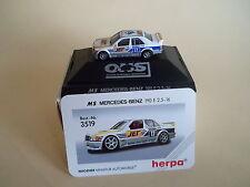 Herpa 1:87 3519 MS Mercedes Benz 190E 2.5-16 Dekra 17 V. Ommen   OVP/PVC-BOX