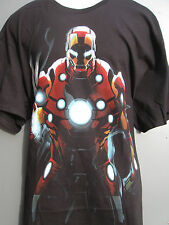 IRON MAN IRONMAN AVENGERS MARVEL COMICS T-SHIRT sz XL X-LARGE NEW BLACK New NWOT