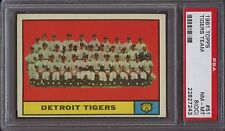 1961 Topps Tigers Team 51 Baseball Card