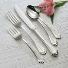 Oneida Marquette 66 Piece Service for 12 Flatware Set 18/8 Stainless Steel