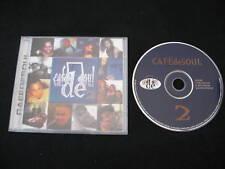 Cafe De Soul V.2 - RARE UK CD / R&B Soul Swing Hip Hop
