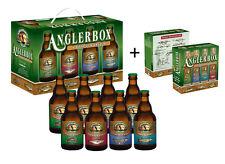 Anglerbräu Anglerbox im 8er + Anglerbox Mini´s Geschenk für jeden Anglerfreund