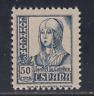 ESPAÑA (1937) NUEVO SIN FIJASELLOS MNH - EDIFIL 825 (50 cts) ISABEL - LOTE 1