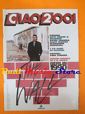 rivista CIAO 2001 30/1990 POSTER Tina Turner Poison Roger Waters Guccini * No cd