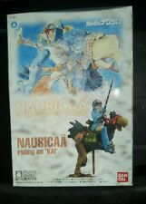 Nausucaa Bandai Model Valley of the Wind Riding on Kai In Box Complete