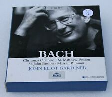 Bach: Sacred Vocal Works John Elliot Gardiner 9 CD Box Set Collectors Edition