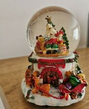 Father Christmas Musical Snow Globe