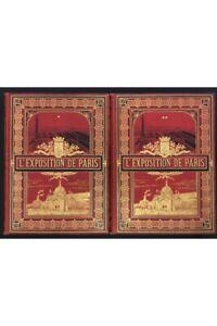 L'exposition de Paris 1889 / Exposition Universelle 1889 / 2 tomes