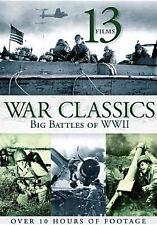 13- FILMS WAR CLASSICS BIG BATTLES OF WWII (2PC) - DVD - Region 1 - Sealed