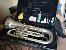 Yamaha Euphonium YEP321S 4 Valve Horn With Hard Case & Care Kit