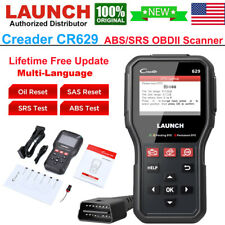 LAUNCH CR629 Automotive OBD2 Scanner Car Code Reader ABS SRS Engine Diagnostic