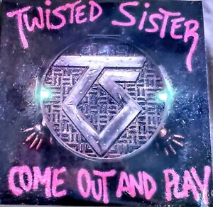 """TWISTED SISTER - COME OUT AND PLAY - VINYL LP """" NEW / SEALED """" ATLANTIC 81275"""