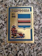 SCUDETTO SAMPDORIA N. 29 CALCIATORI PANINI 1973-74 NUOVO CON VELINA DA BUSTINA