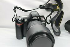 Nikon D70 Digital Slr Camera Kit w/ Quantaray Af 70-300mm Lens 2 Batteries Manua