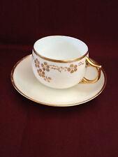 German J & C Bavaria Hand Painted Tea Cup and Saucer