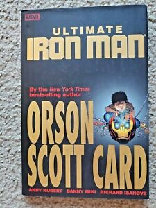 Ultimate Iron Man Vol 1 HC Bookstore Variant Dust Jacket By Marvel Andy Kubert