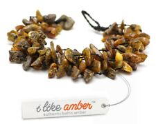 Baltic Amber Bracelet & Necklace Genuine Amber Beads Adult Size SET possible