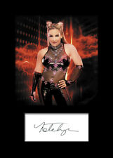 NATALYA #2 (WWE) Signed Photo A5 Mounted Print - FREE DELIVERY