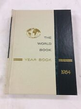 World Book Encyclopedia 1984 Yearbook - Review of Events in 1983 Birthday Gift