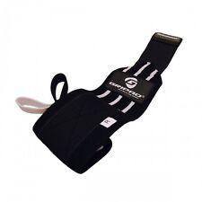 Black & White Gripad Wrist Wraps