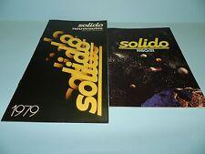 Solido Model Car Catalogues 1979 & 1980-81