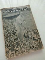 NSW Cricket Association Year Book - 21st Edition ~ 1958 ~Richie Benaud Cover