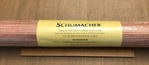 """Schumacher Natural Handcrafted Grasscloth Wallcovering Double Roll 36"""" x 8 yards"""